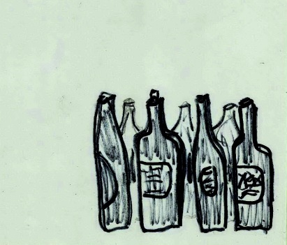 4 botellas inutiles