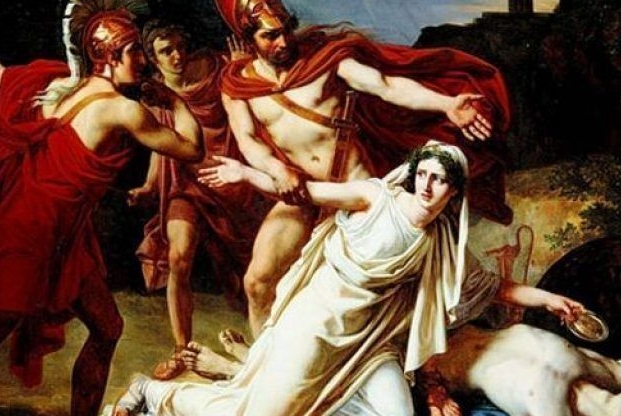 a comparison of antigone and creon in the classic tragedy antigone In creon's view, antigone abandoned the state, so the state is validated in its abandonment of her similarities between antigone and creon creon and antigone represent the madness in the world when a certain dimension of life is taken to the extreme.
