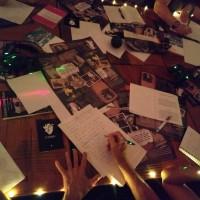 Una experiencias de sentidos, de lectura y escritura colectiva