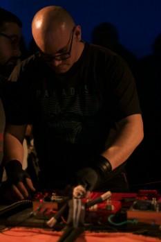 Fernando Funes, heterónimo de Alfredo Germignani, en clave noise.