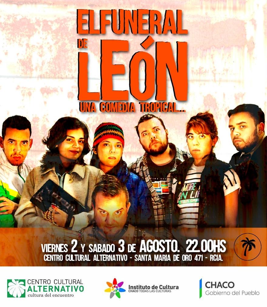 Flyer El funeral de León