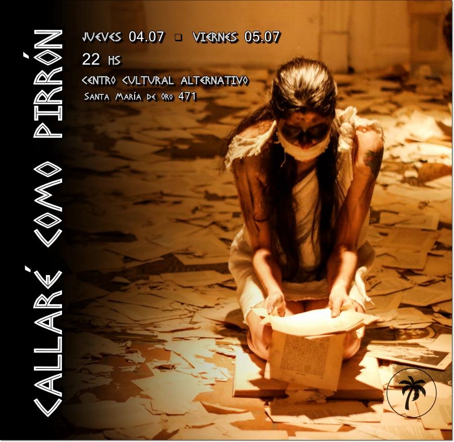 Flyer Pirrón 2019