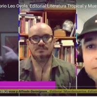 Conversatorio Clase B: Literatura Tropical, Leo Oyola y José María Marcos (Muerdemuertos)